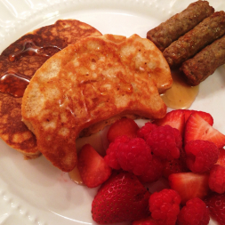 Eat Fit Not Fat – Mother's Day Brunch Gone Healthy! Chocolate Chip Banana Pancakes