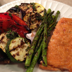 Eat Fit Not Fat- Nine Finger Grilled Cedar Plank Salmon