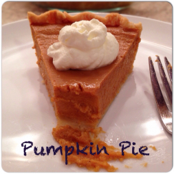 Eat Fit Not Fat- Pumpkin Pie