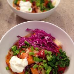 Eat Fit Not Fat- Sweet Potato and Turkey Chili