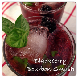 Blackberry Bourbon Smash